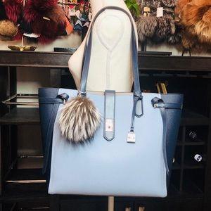 Michael Kors Bags - 3PCS Michael Kors Cassie Large Tote Wallet Charms